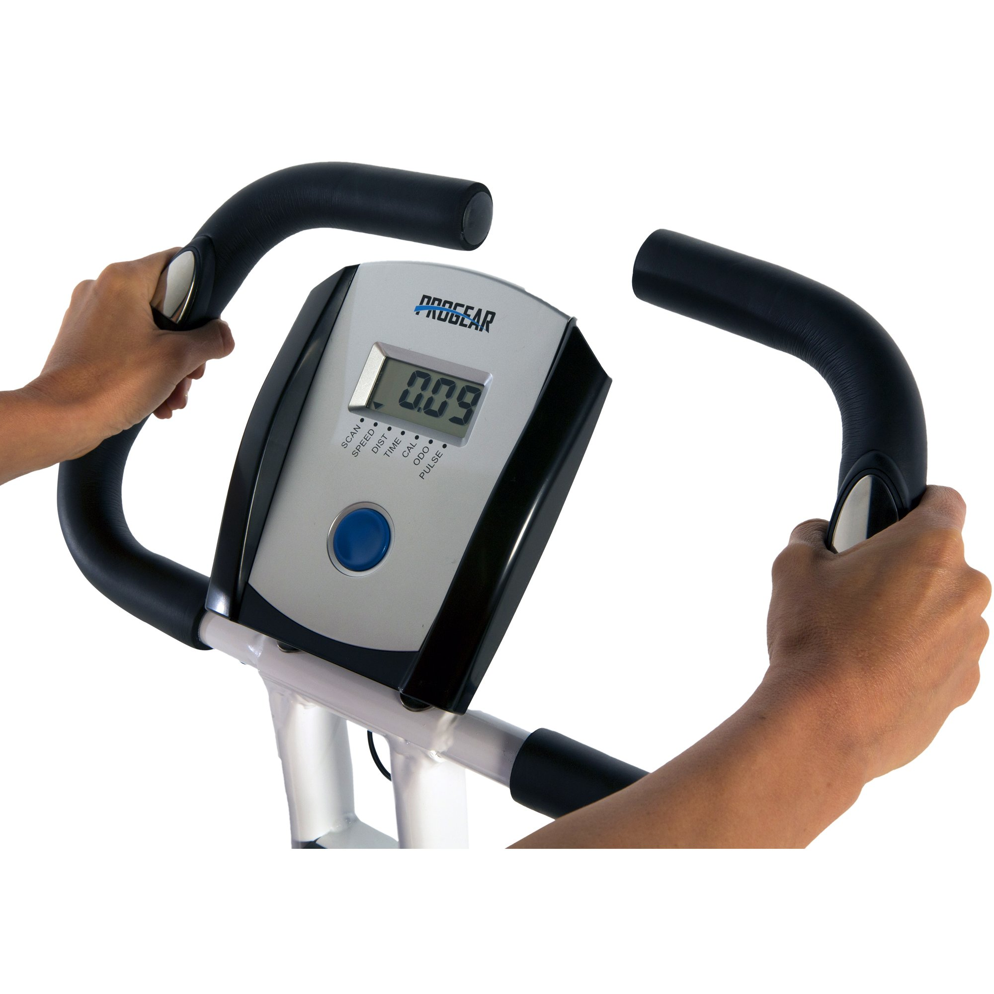 ProGear 225 Folding Magnetic Upright Exercise Bike with Heart Pulse by ProGear (Image #4)