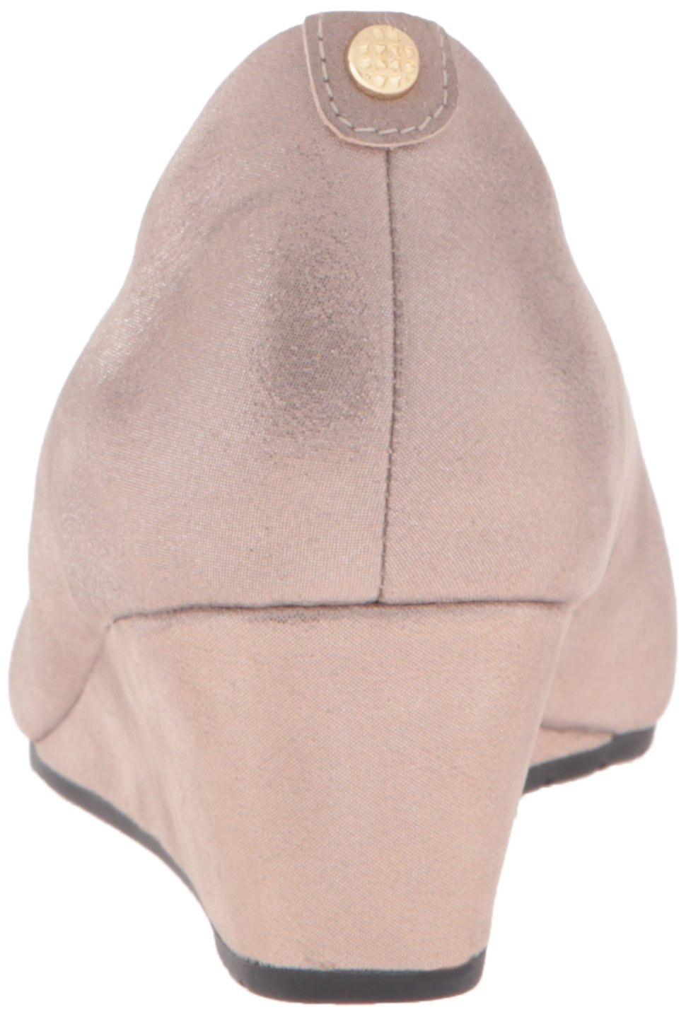 CLARKS Women's Vendra Bloom B(M) Wedge Pump B0195EDFCQ 8 B(M) Bloom US|Champagne Metallic Leather e8bfbb