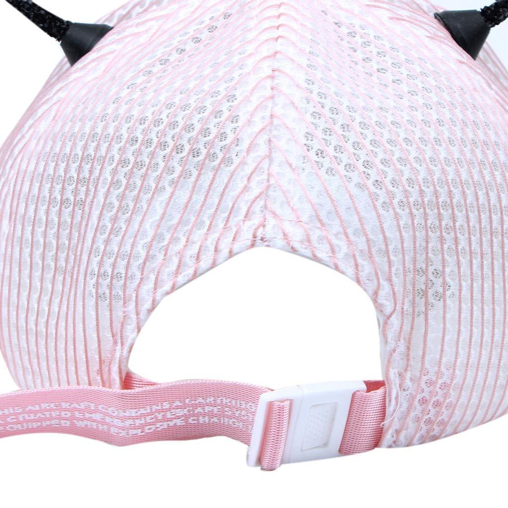 Cuekondy 2019 Summer Baby Girls Boy Kids Baseball Cap Cute Bee Ears Casual Sports Adjustable Mesh Sun Protection Sun Hat
