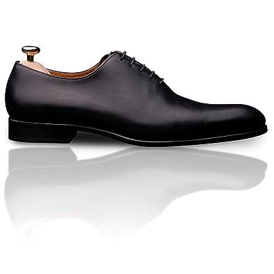 Vinedge - Chaussure ville homme - chaussure de luxe Gabin - Couleur   Noir  - Taille 69e08d7ffa48