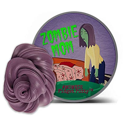 Gears Out Zombie Mom Stress Relief Putty - Funny Therapy Dough for Mothers - Zombie Lover Gifts - Fidget Toys for Friends - Mombie: Toys & Games