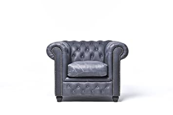 Poltrona Mano Pelle.The Chesterfield Brand Poltrona Chester Brighton Nero