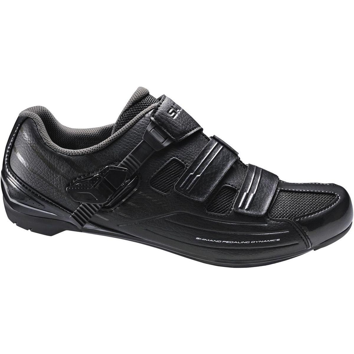 Shimano Men's RP3 Black Road Cycling Shoes - 40