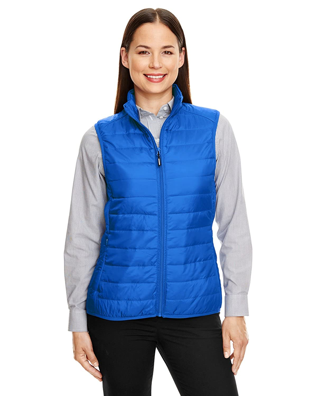 Ladies' Prevail Packable Puffer Vest TRUE ROYAL 438 3XL Ash City - Core 365 CE702W