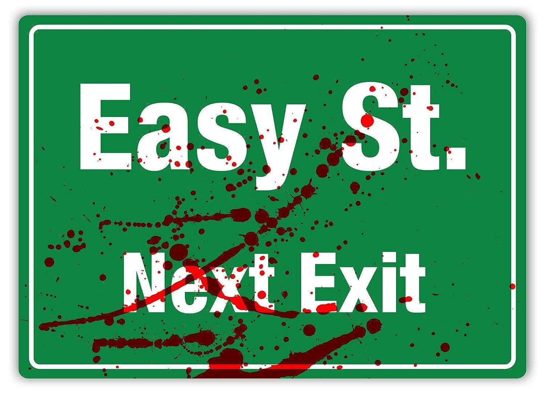 LORENZO Easy Street Next Exit Vintage Metal Cartel de Chapa ...