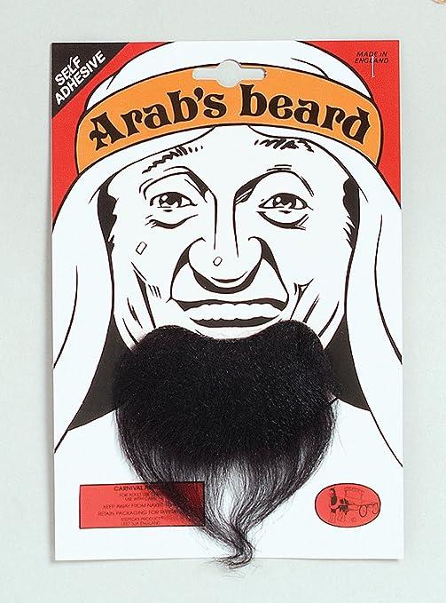 Dress Black Fancy Mens Accessory Smiffys Arab Beard
