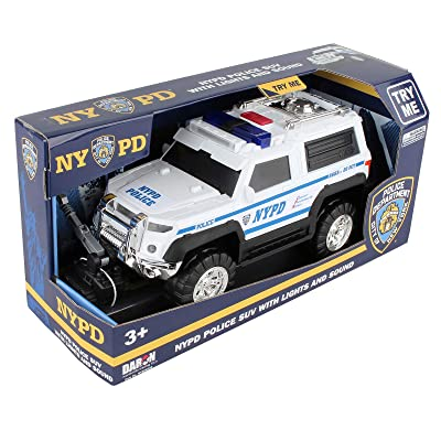 Daron NYPD Police SUV with Lights & Sounds 2020 New: Toys & Games