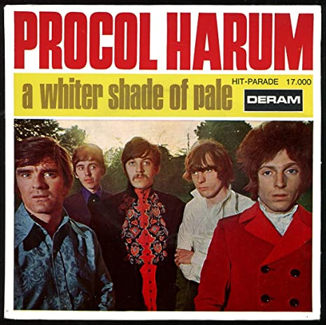 Deram HP 17.000 - Procol Harum : A Whiter Shade Of Pale, Lime ...