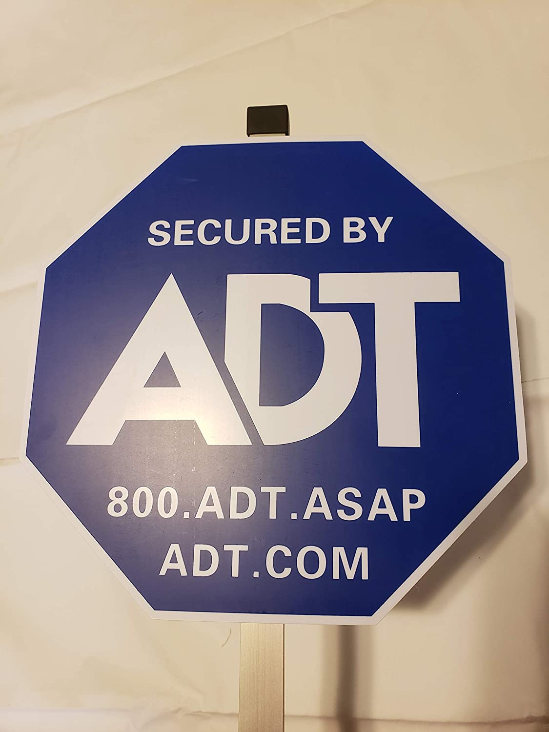 ADT Signs New Stake and Stickers 45 Degree Cut Stake
