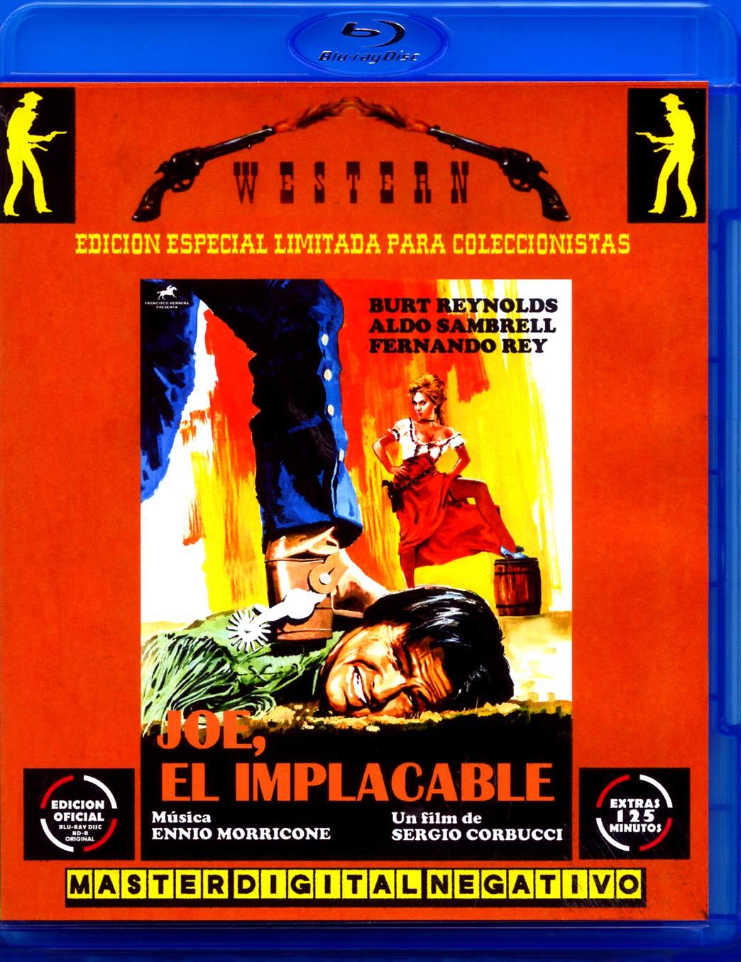 JOE,EL IMPLACABLE BLU-RAY DISC BD EDICIÓN OFICIAL PARA COLECCIONISTAS BURT REYNOLDS ALDO SAMBRELL EXTRAS 125 MINUTOS: Amazon.es: Cine y Series TV