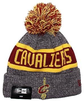 1f74b66f2902f7 New Era Kids NBA Marl Knit Beanie - Cleveland Cavaliers: Amazon.co.uk:  Sports & Outdoors