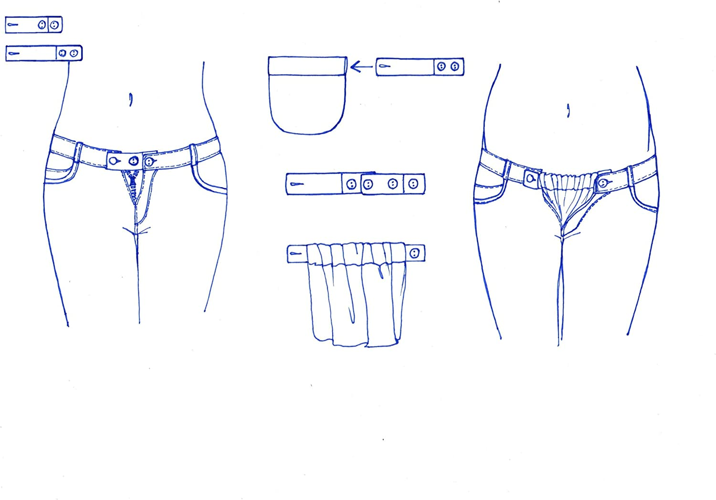 Be Mama Kit Extenseur Ceinture de Grossesse en Caoutchouc pour Pantalon 2 /à 18 cm