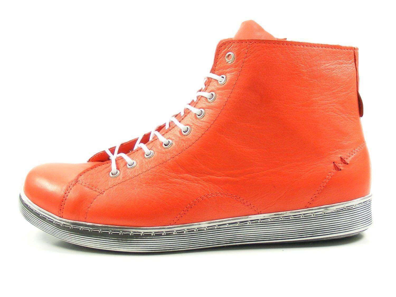 Andrea Conti 0341500 Zapatos de Cuero Para Mujer 42 EU|Rojo