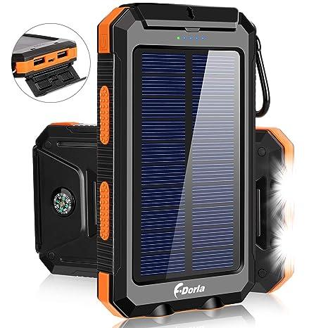 Cargador Solar 20000mAh Banco de Alimentación, Cargador ...