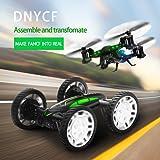 DIY RC Drohne Quadrocopter Fahrad Auto Buggy mit Kamera Live Übertragung HD Wifi Handy Fernbedienung 360°Flip RC Toy LED Beleuchtung 2x Akku Kopflos Modus von DNYCF