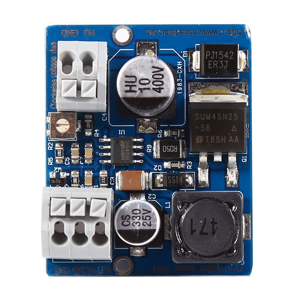 Nch6100hv High Voltage Dc Power Supply Module For Nixie Vfd Tube Walfront