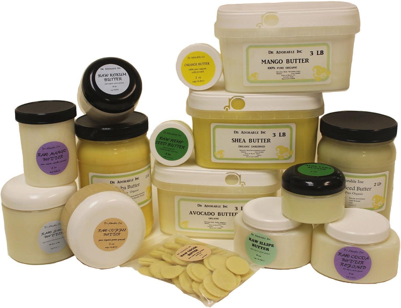 12LB Premium Avocado Butter 100/% Natural Pure Organic Fresh Skin Body Care