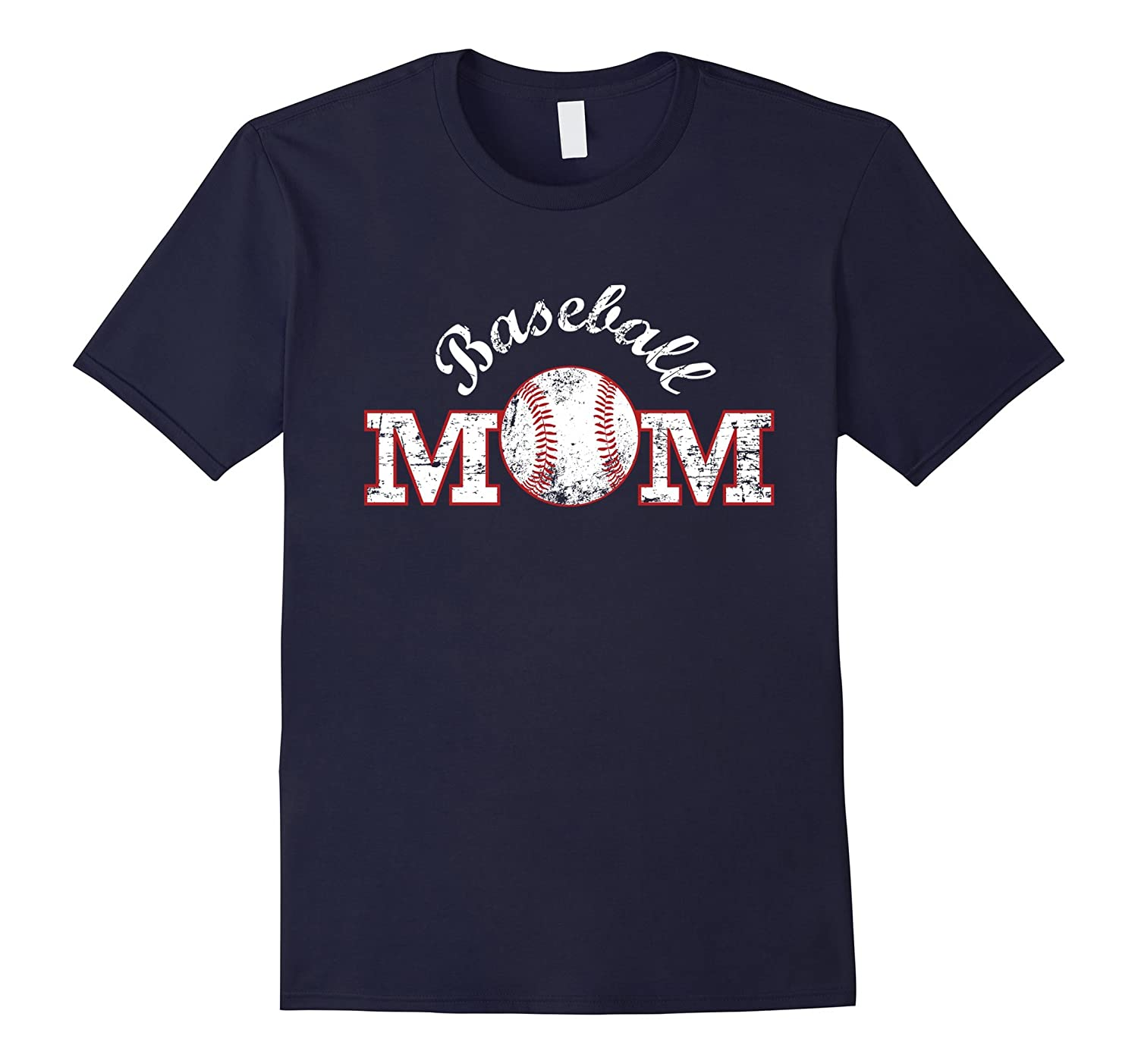 Baseball Mom T Shirt Gift Mother Mama-TH