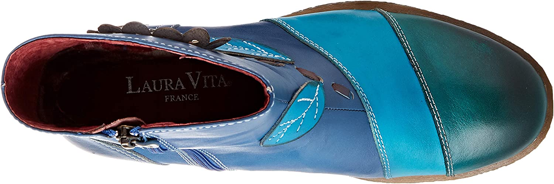 Laura Vita Cocreeo 03, Botines para Mujer Bleu H8zhM