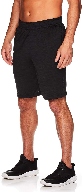 HEAD Men's Performance Workout Gym & Running Shorts w/Elastic Drawstring Waistband & Pockets
