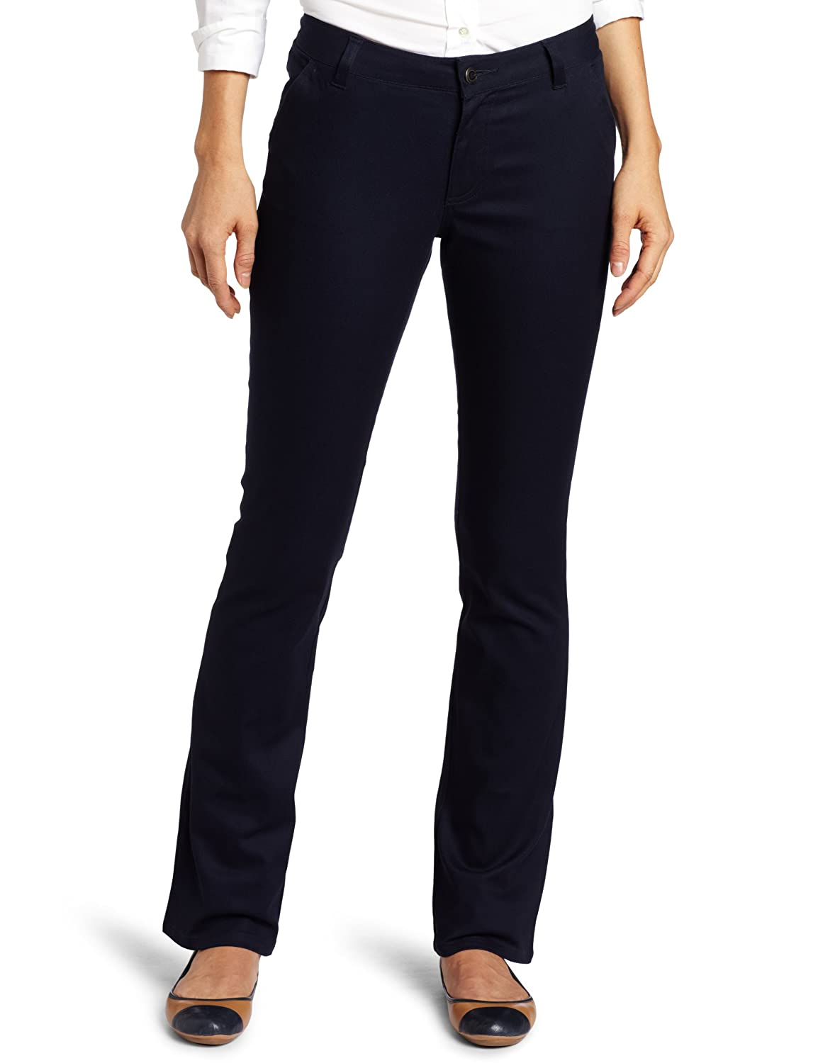 Lee Womens Curvey Straight Leg Pant Lee Uniform - Juniors K9438JL