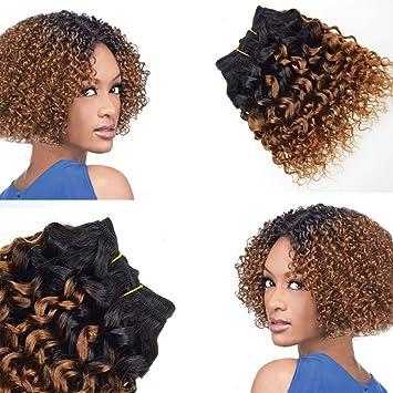 Amazon Com 8 Inch Short Bob Wave Barroko Hair Ombre