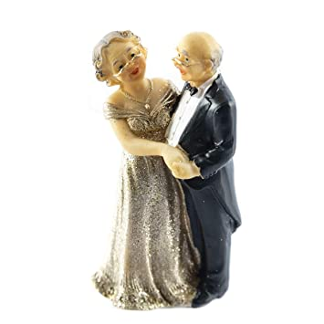 Knuellermarktde Tortenfigur Hochzeits Figur Goldene