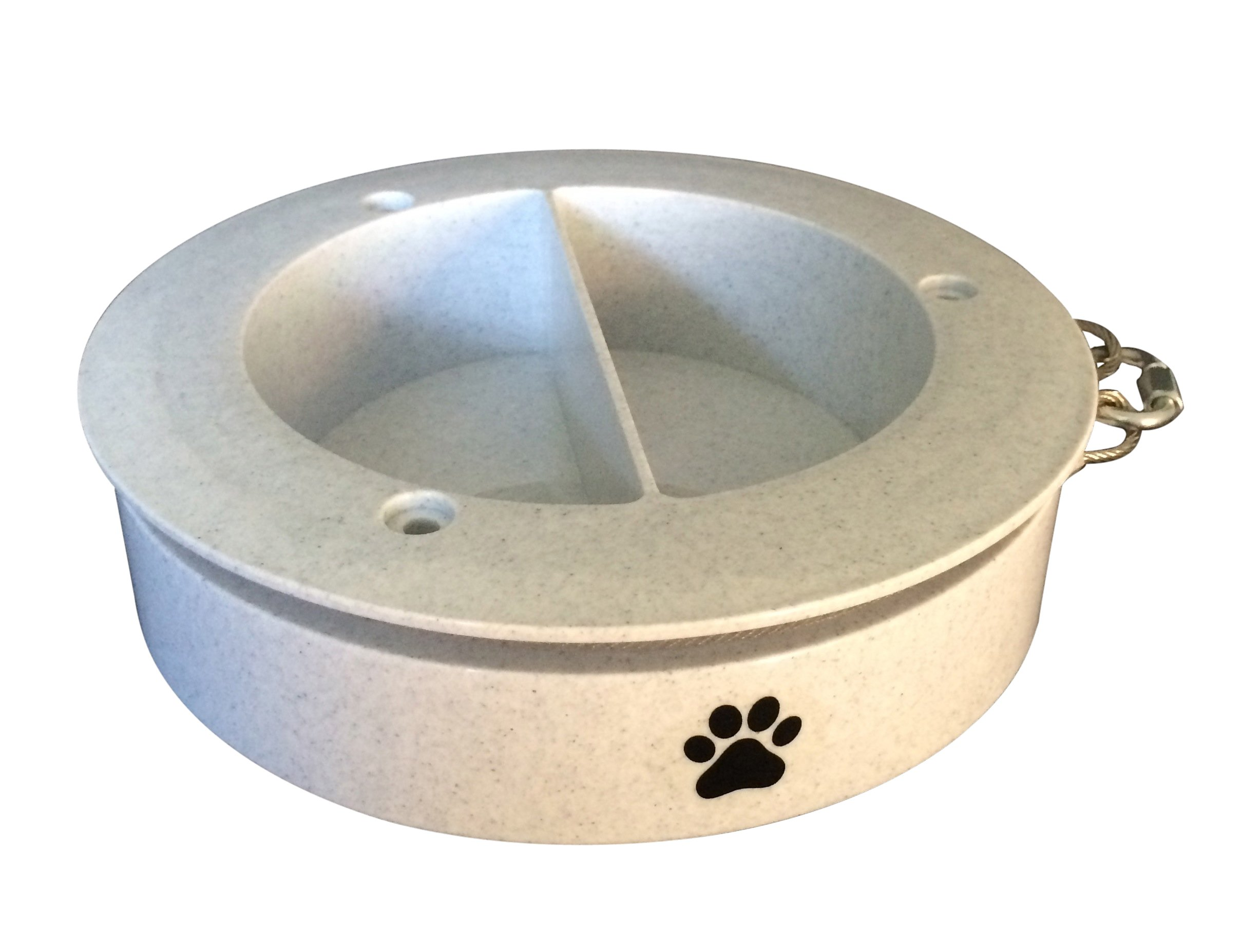 Pet Bowl Go Round Tie Out, Small