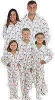 SleepytimePjs Family Matching Polar Bears Onesie PJS Footed Pajamas