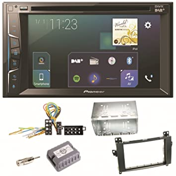 Pioneer Z300 0dab CD DVD Bluetooth Radio Digital CarPlay USB MP3 Radio de coche para Mercedes