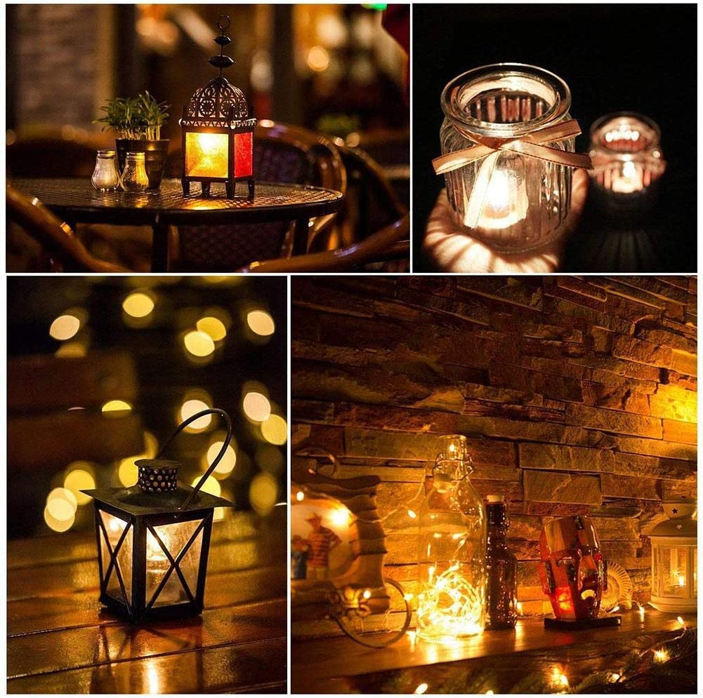 KFYOUXIN Tea/lights Tealight Tea Lights Flickering Smokeless Tealights Decorative Electric/candle Battery Operated Realistic Led Powered Fake Votive Candles