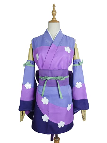 Amazon.com: Xiao Wu Erza Scarlet S-Class Mage morado Kimono ...