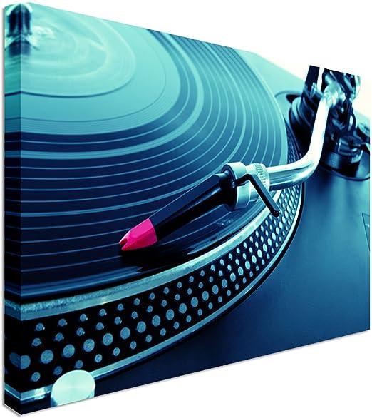 Art Okay DJ giradiscos Tocadiscos Disco de Vinilo   20 x 30 ...