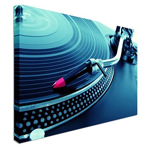 Art Okay DJ giradiscos Tocadiscos Disco de Vinilo | 20 x 30 ...