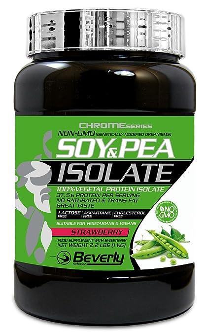 Beverly Nutrition - Aislado de Soja y Guisante - 1kg - Chocolate