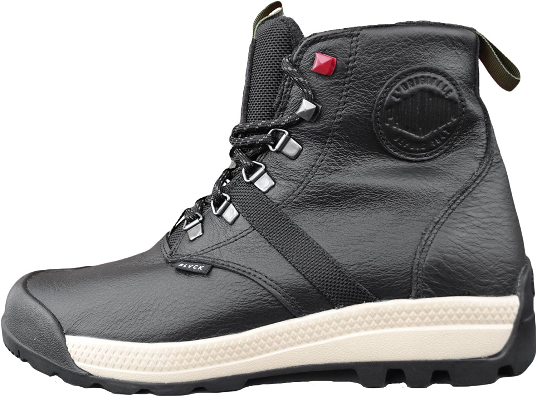 Palladium Men/'s Pallabrouse lea 2 Leather Combat Boots Brand New
