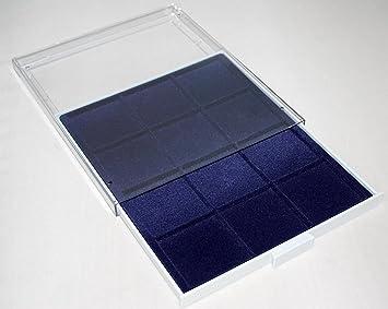 Prophila Caja de Monedas Gris 12 divisiones angulares para ...