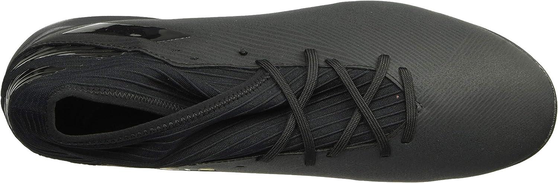 Adidas Nemeziz 19.3 Turf Chaussures de Football pour Homme Noir