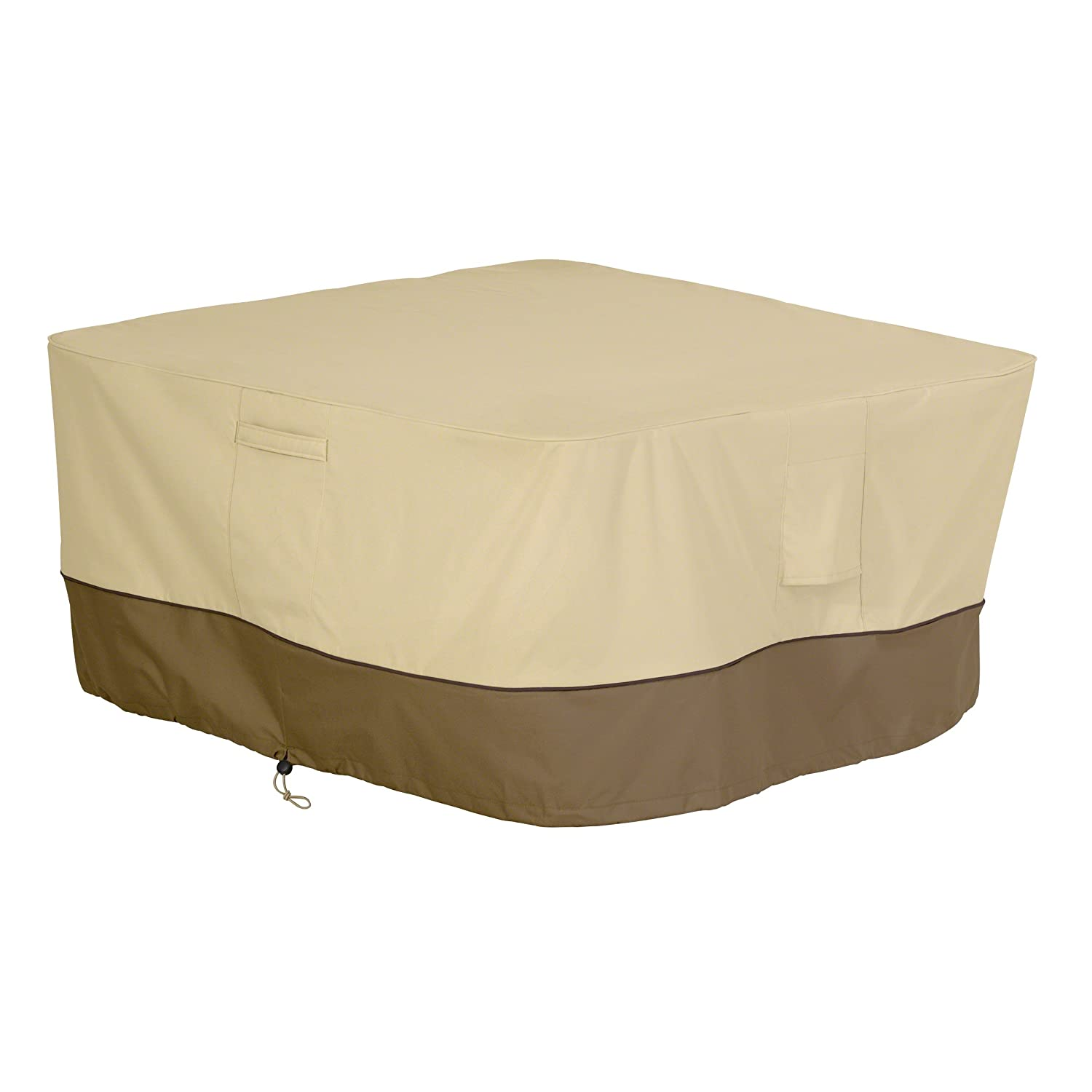 Classic Accessories Veranda Square Fire Pit/Table Cover, 42-Inch