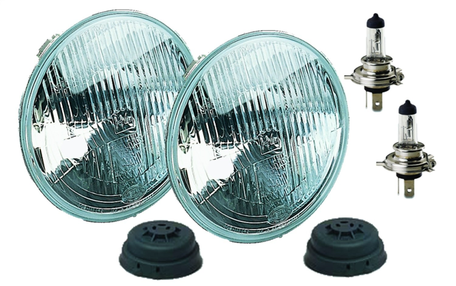 HELLA 002395301 Vision Plus 176mm High/Low Beam 12V Halogen Conversion Headlamp (HB2)