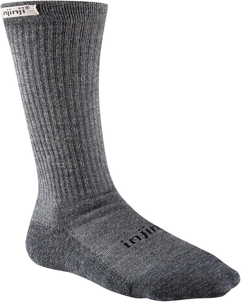 Injinji Womens Liner+Hiker Socks Maroon