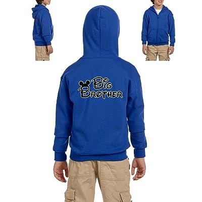 Family Hoodie Cartoon Boy Big Brother Birthday Gift Youth Hoodies Zip Up Sweater