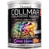 COLLMAR Colágeno Marino Hidrolizado con Magnesio, Ácido Hialurónico y Vitamina C 300 g Polvo