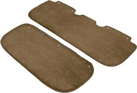 Coverking Custom Fit Front Floor Mats for Select Honda Accord Models Black Nylon Carpet