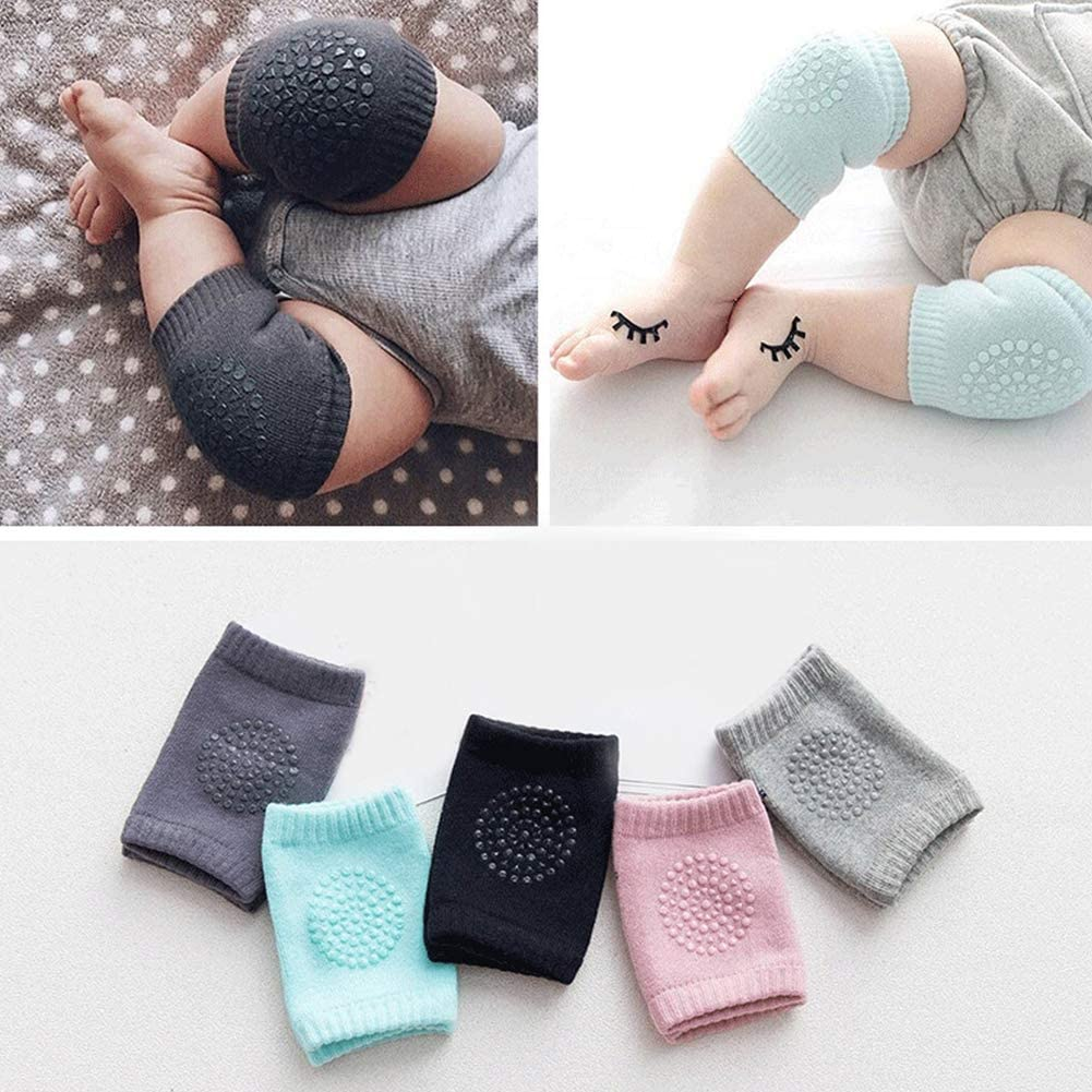 Ecosunny Baby Crawling Anti-Slip Knee Sports Safety Protective Cover Unisex Kids Toddlers Kneepads Leg Warmer