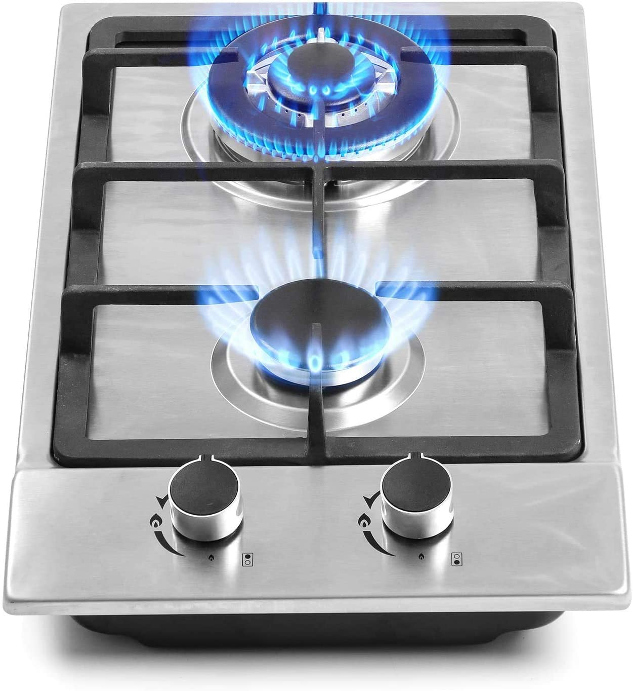 Gas stove otherwise electric stove