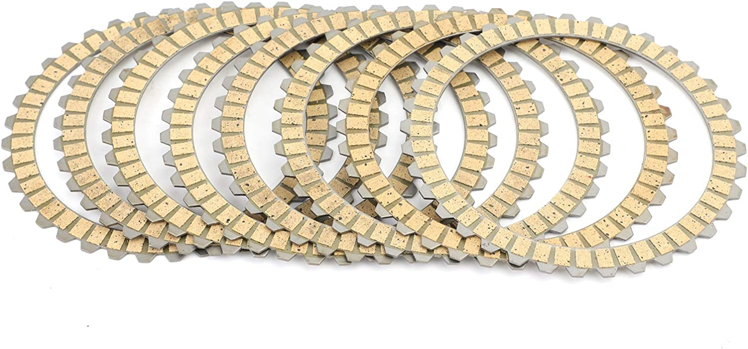 Areyourshop Clutch Friction Plate Kit Set fit for Sportst-er XL883 XL1200 Softail Dyna