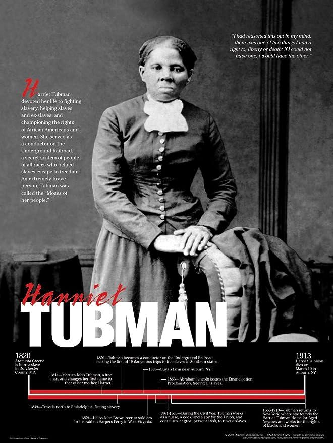prakken publications harriet tubman poster