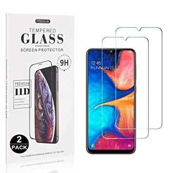Bear Village/® Anti-Scratch Bubble Free HD Screen Protector Film for Samsung Galaxy A50 1 Pack Galaxy A50 Screen Protector Tempered Glass