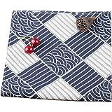 風呂敷 彩布 箱なし 70×70cm 綿100% ふろしきセット 包みやすい風呂敷サイズ 菓子折り包み (水の波紋)